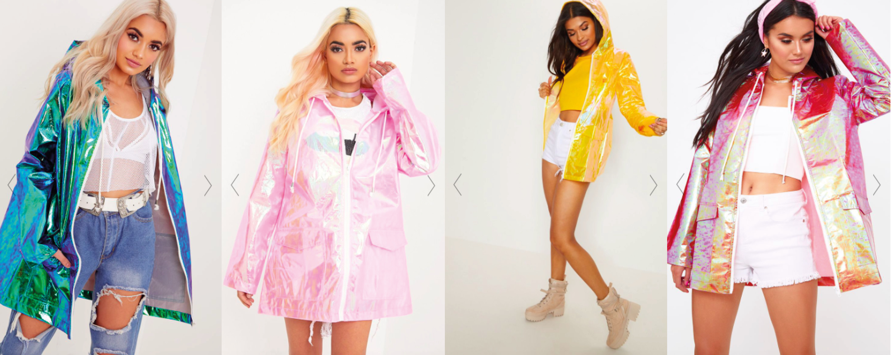 kway prettylittlethings colors